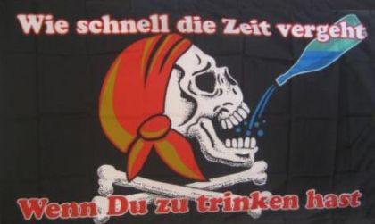 Flagge Fahne Pirat Wie schnell die 90 x 150 cm