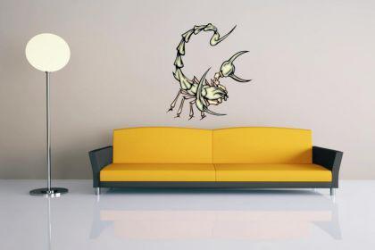Wandtattoo Predator Skorpion Motiv Nr. 11