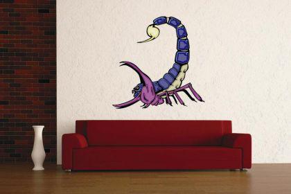 Wandtattoo Predator Skorpion Motiv Nr. 12
