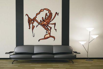 Wandtattoo Predator Skorpion Motiv Nr. 14