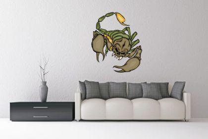 Wandtattoo Predator Skorpion Motiv Nr. 15