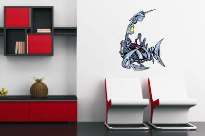 Wandtattoo Predator Skorpion Motiv Nr. 19