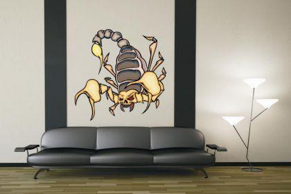 Wandtattoo Predator Skorpion Motiv Nr. 20