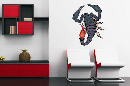 Wandtattoo Predator Skorpion Motiv Nr. 23