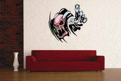Wandtattoo Predator Skull Motiv Nr. 8