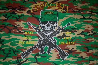 Flagge Fahne Ranger Camouflage 90 x 150 cm - Vorschau