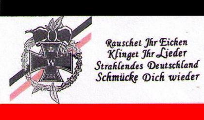 Flagge Fahne Rauschet Ihr Eichen 90 x 150 cm