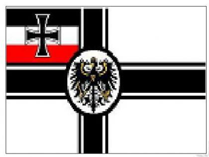 Flagge Fahne Kaiserliche Marine 90 x 150 cm - Vorschau