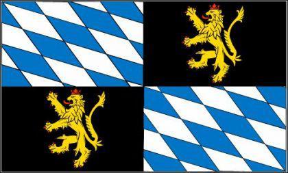 Flagge Fahne Rheinische Pfalzgrafschaft 90 x 150 - Vorschau
