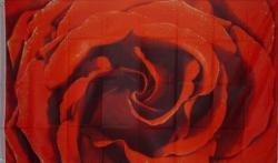 Flagge Fahne Rose 90 x 150 cm - Vorschau