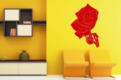 Wandtattoo Rose Motiv Nr. 3
