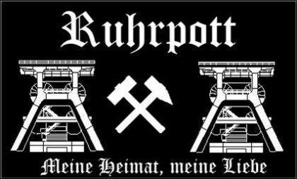 Flagge Fahne Ruhrpott 90 x 150 cm - Vorschau