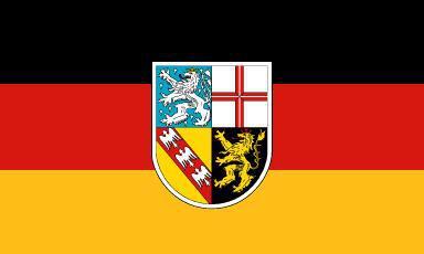 Flagge Fahne Saarland 90 x 150 cm - Vorschau