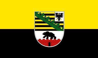 Flagge Fahne Sachsen-Anhalt 90 x 150 cm - Vorschau