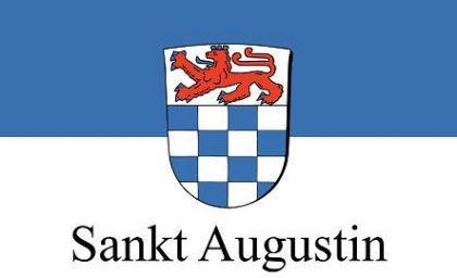 Flagge Fahne Sankt Augustin 90 x 150 cm - Vorschau