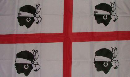 Flagge Fahne Sardinien alt 90 x 150 cm - Vorschau