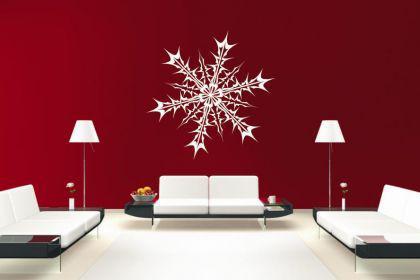 Wandtattoo Snowflake Motiv Nr. 2
