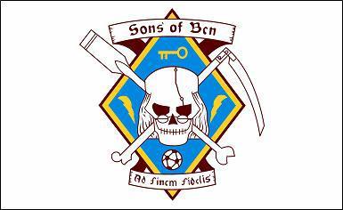 Flagge Fahne Sons of Bcn 90 x 150 cm - Vorschau