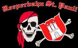 Flagge Fahne Reeperbahn St. Pauli 90 x 150 cm - Vorschau