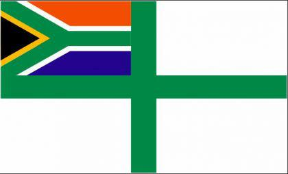 Flagge Fahne Südafrika Seekrieg 90 x 150 cm - Vorschau