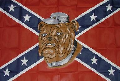 Flagge Fahne Südstaaten Bulldogge 90 x 150 cm