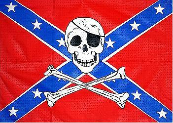 Flagge Fahne Südstaaten Pirat 90 x 150 cm - Vorschau