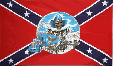 Flagge Fahne Südstaaten Buggy 90 x 150 cm - Vorschau