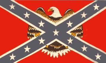 Flagge Fahne Südstaaten gr. Adler 90 x 150 cm - Vorschau