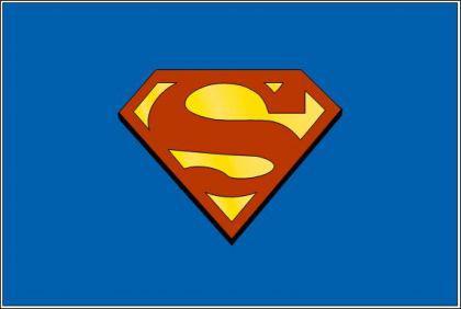 Flagge Fahne Supermann 90 x 150 cm - Vorschau