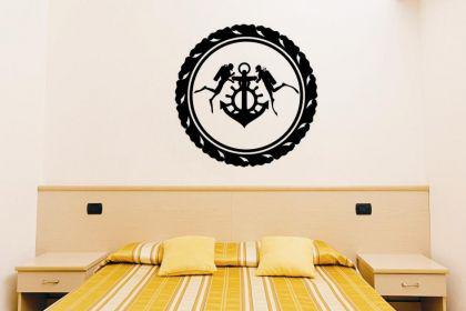 Wandtattoo Taucher Emblem
