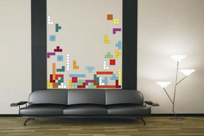Wandtattoo Tetris