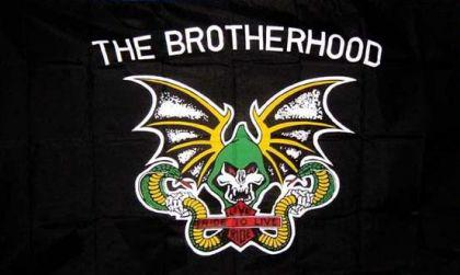 Flagge Fahne The Brotherhood 90 x 150 cm - Vorschau