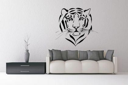 Wandtattoo Tigerkopf Motiv Nr. 1