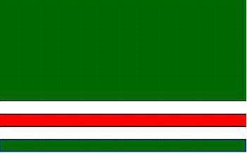 Flagge Fahne Tschetchenien alt 90 x 150 cm - Vorschau