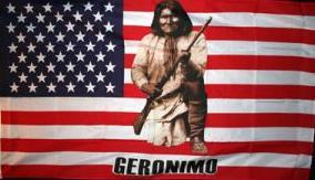 Flagge Fahne USA Geronimo 90 x 150 cm - Vorschau