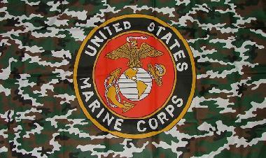 Flagge Fahne US Marine Camouflage 90 x 150 cm - Vorschau