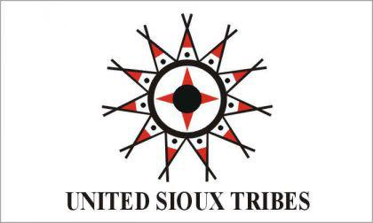Flagge Fahne United Sioux 90 x 150 cm - Vorschau