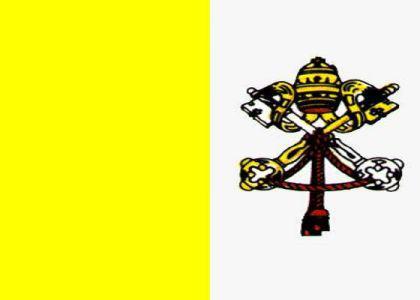 Flagge Fahne Vatikan 90 x 150 cm - Vorschau