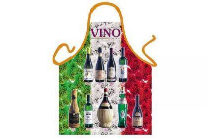 Schürze Vino Tricolore 56 x 73 cm