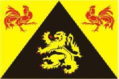 Flagge Fahne Wallonisch Brabant 90 x 150 cm - Vorschau