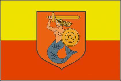 Flagge Fahne Warschau 90 x 150 cm - Vorschau