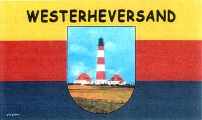 Flagge Fahne Westerheversand 90 x 150 cm - Vorschau