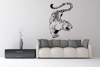 Wandtattoo Wild Tiger