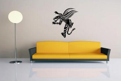 Wandtattoo Wingend Panther