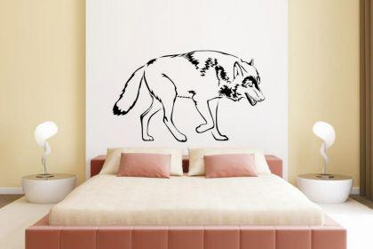 Wandtattoo Wolf Motiv Nr. 2