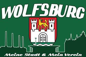 Flagge Fahne Wolfsburg meine Stadt 90 x 150 cm - Vorschau