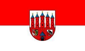 Flagge Fahne Zerbst 90 x 150 cm