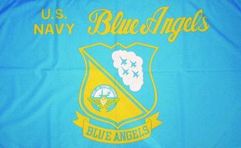 Flagge Fahne Blue Angels 90 x 150 cm - Vorschau