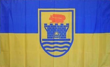 Flagge Fahne Eckernförde 90 x 150 cm - Vorschau