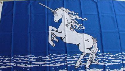 Flagge Fahne Einhorn 90 x 150 cm - Vorschau
